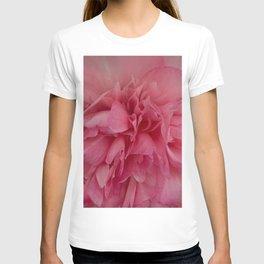 Rose Pink Peony by Teresa Thompson T-shirt
