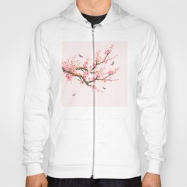 Pink Cherry Blossom Dream Hoody