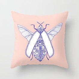 porcelaine bug Throw Pillow