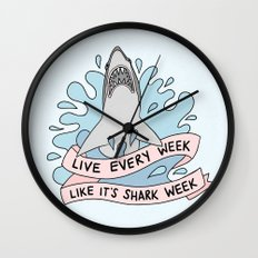 Live every week like it's shark week Wall Clock