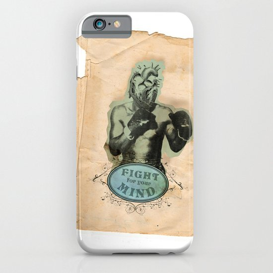 Fight for your mind iPhone & iPod Case