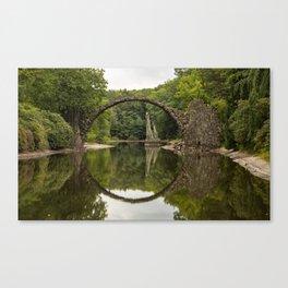 Rakozbrucke Lake Landscape Canvas Print