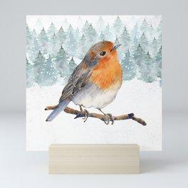 Winter wonderland 7 Mini Art Print