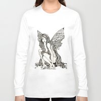 flight Long Sleeve T-shirts featuring flight by manje