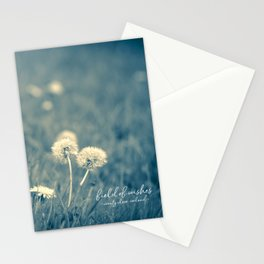 field of wishes Stationery Cards