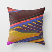 data Throw Pillows featuring Data Path by dBranes
