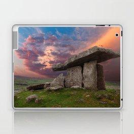 Poulnabrone Dolmen Sunset Laptop & iPad Skin