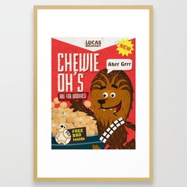 Chewy ohs Framed Art Print