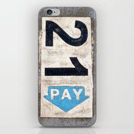 21 Pay iPhone Skin