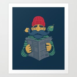 Oh Captain Art Print