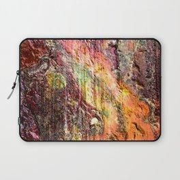 Colorful Nature : Texture Warm Tones Laptop Sleeve