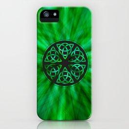 Celtic Knot Star Flower iPhone Case