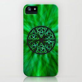 Celtic Knot Star Flower iPhone Case