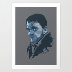 Villains: Lorne Malvo Art Print