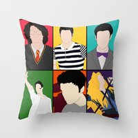 hedwig Throw Pillows featuring From Harry To Hedwig by byebyesally