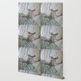 Pine Veil Nesting Wallpaper