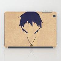 gurren lagann iPad Cases featuring Minimalist Simon by 5eth