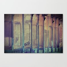 Between the Lines Canvas Print