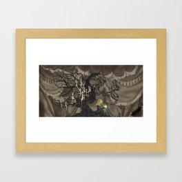 Midnight Circus: The Fortune Teller Framed Art Print