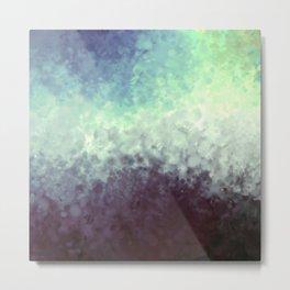 Misty texture Metal Print