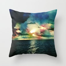 Rise with the Tides Throw Pillow
