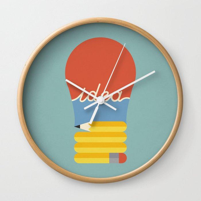 I've Got An Idea Wall Clock