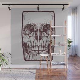 Front Skull Wall Mural