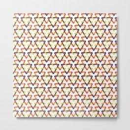German Triangles Metal Print