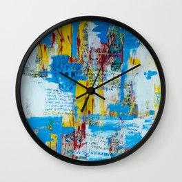 visions of Johanna Wall Clock