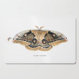 Oculea Silkmoth (Antheraea oculea) Cutting Board