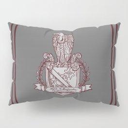 Nolite Te Bastardes Carborundorum_Burgandy Crest Pillow Sham