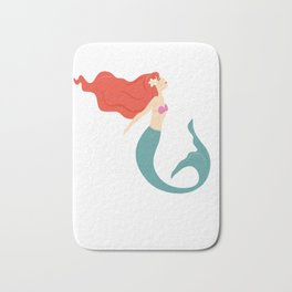 There's a Million Fish in the Sea But I'm a Mermaid Bath Mat