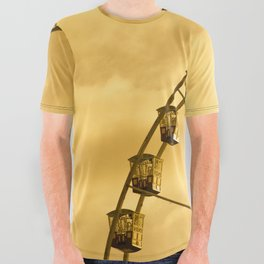 Carnival Is Over All Over Graphic Tee