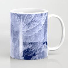blue fozen leaves Coffee Mug