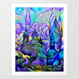 Dream Cities Art Print