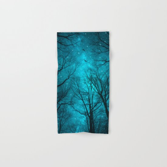 Stars Can't Shine Without Darkness Hand & Bath Towel