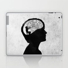 Musarañas (black and white) Laptop & iPad Skin