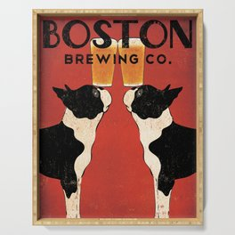 Boston Terrier Brewing Company Serving Tray