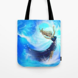 Lemurian Goddess of Water Tote Bag