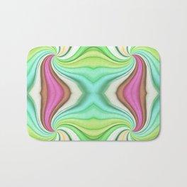 334 - Abstract Paper Design Bath Mat
