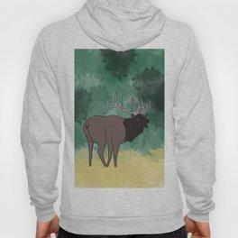 Bull Elk Bugling Hoody