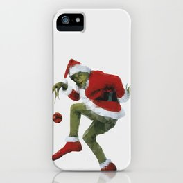 Christmas Grinch iPhone Case