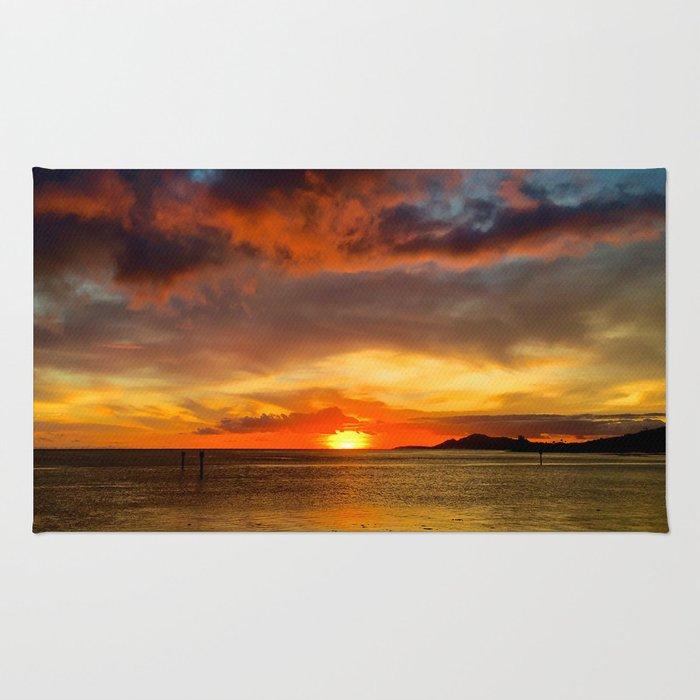 Hawaii Sunset Rug