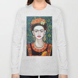 Frida, queen of hearts closer II Long Sleeve T-shirt