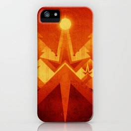 Mars - Cryptic Geysers iPhone Case