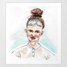 Claire Boucher/Grimes Art Print