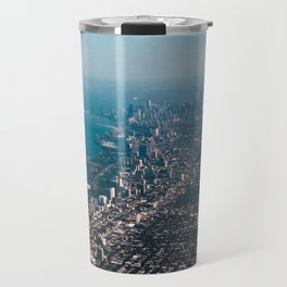 Soaring over Chicago Travel Mug
