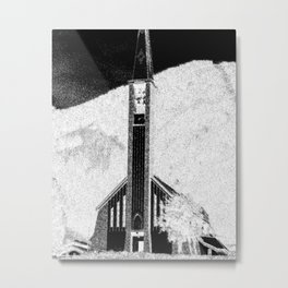 Church in Fassa Valley Metal Print