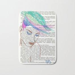 Parrot Hair Bath Mat