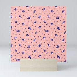 Hibiscus Hawaiian Flowers - Rose Mini Art Print